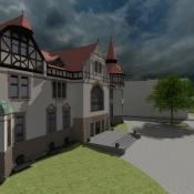 Teatr Nowy Zabrze Model 3D - Wizualizacja