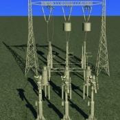 Model 3D - instalacje energetyczne