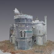 Model 3D oficyny Pałacu