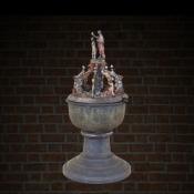 Chrzcielnica model 3D