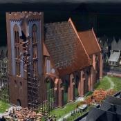 Katedra Świętych Janów w Toruniu - rekonstrukcja historyczna