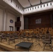 Filharmonia w Zabrzu widok 3D