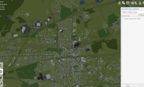 Zabrze mapa widok 2D
