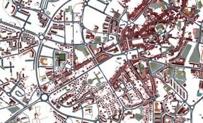 Przykład systemu informacji geograficznej infrastruktury miejskiej